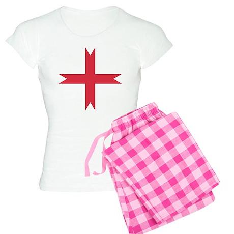 templarcrossfork.png Women's Light Pajamas