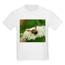 Bee-cause She Loves Queen Anne's Lace T-Shirt
