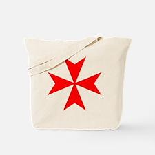 redcrossmaltese.png Tote Bag