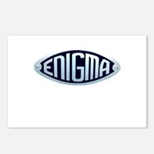 enigma.png Postcards (Package of 8)