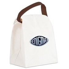 enigma.png Canvas Lunch Bag