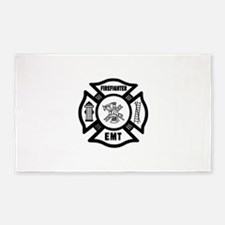 Firefighter EMT 3'x5' Area Rug