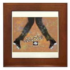 SKATE GIRL - Framed Tile