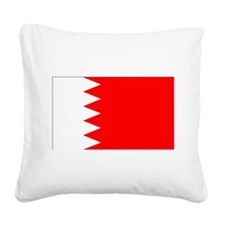 Bahrain.png Square Canvas Pillow