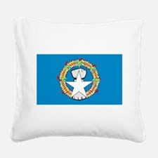 Northern Mariana Islands.png Square Canvas Pillow