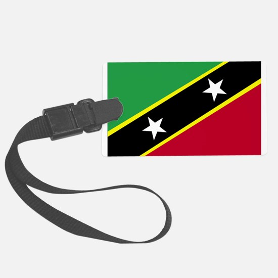 Saint Kitts and Nevis.png Luggage Tag