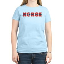 Norway Women's Pink T-Shirt