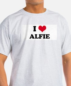 I HEART ALFIE Ash Grey T-Shirt