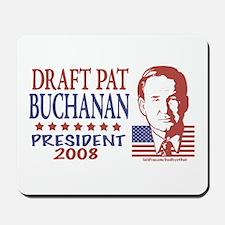 Draft Pat Buchanan Mousepad