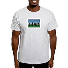 Kids on parade Ash Grey T-Shirt