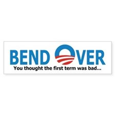 Bend Over Bumper Sticker