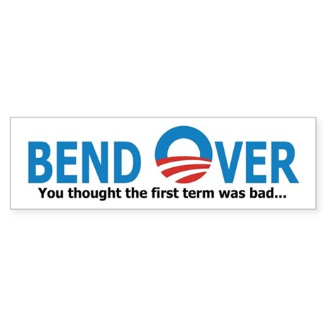 Bend Over Sticker (Bumper)