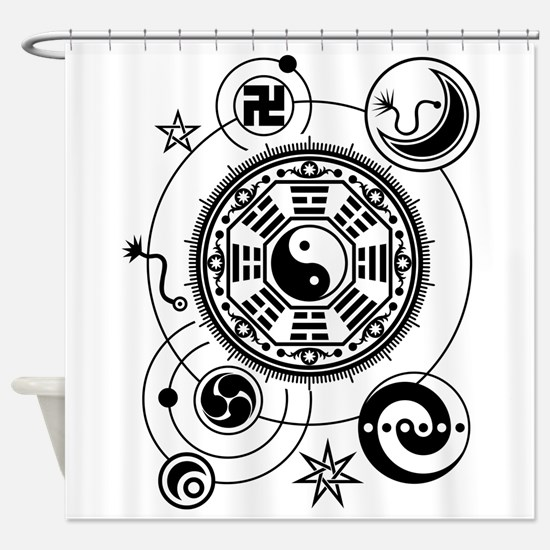 Monyou all 1 Shower Curtain