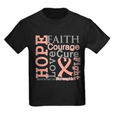 Hope Courage Uterine Cancer T