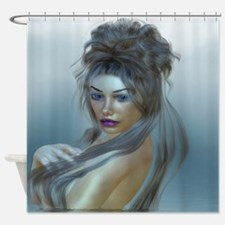 Goddess of the Sea Shower Curtain