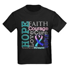 Thyroid Cancer Hope Courage T
