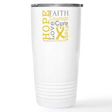 Neuroblastoma Hope Courage Travel Mug