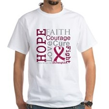 Multiple Myeloma Hope Courage Shirt