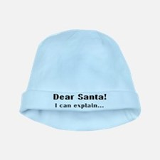 Dear santa! I can explain... baby hat