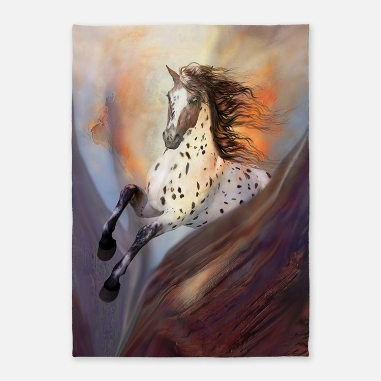 Wild Horse 2 5'x7'Area Rug