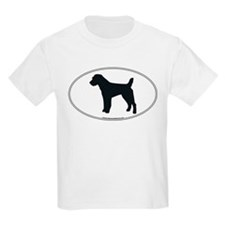 Jack Russell Silhouette Kids T-Shirt