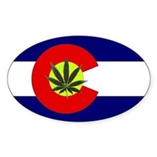 Colorado Marijuana Decal