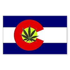 Colorado Marijuana Decal