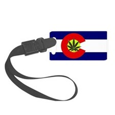 Colorado Marijuana Luggage Tag
