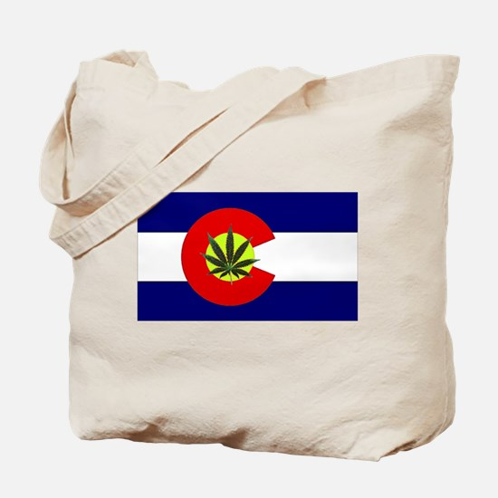 Colorado Marijuana Tote Bag
