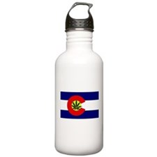 Colorado Marijuana Water Bottle