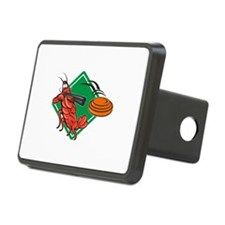 Crayfish Lobster Target Skeet Shooting Hitch Cover