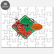 Crayfish Lobster Target Skeet Shooting Puzzle