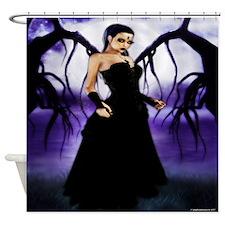 Gothic Queen Fantasy Shower Curtain