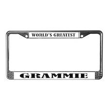 Grammie License Plate Frame