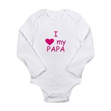 I Papa pink Body Suit