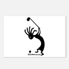 Kokopelli Golfer Postcards (Package of 8)