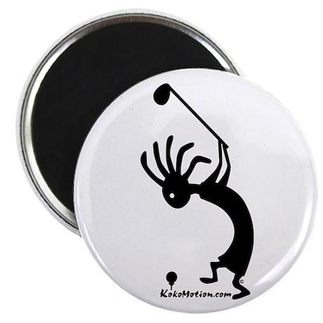 Kokopelli Golfer Magnet