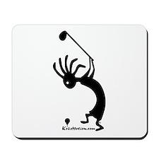 Kokopelli Golfer Mousepad