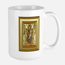 Orthodox ikon of Mary and the child Jesus Ceramic Mugs