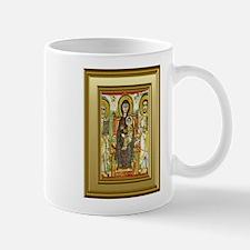 Orthodox ikon of Mary and the child Jesus Small Mugs