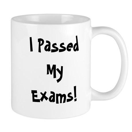 I Passed My Exams Success Mug
