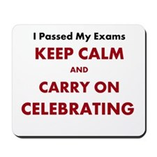 Funny Exam Pass and Success Quote Mousepad