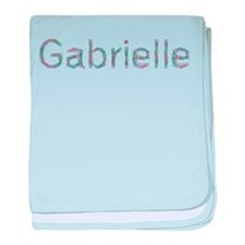 Gabrielle Paper Clips baby blanket