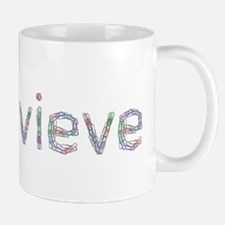 Genevieve Paper Clips Mug