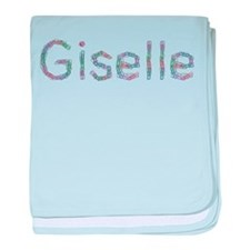 Giselle Paper Clips baby blanket