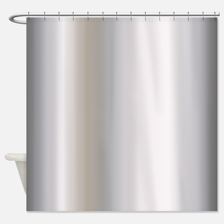 Metallic Shower Curtains