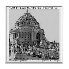 Festival Hall Tile Coaster