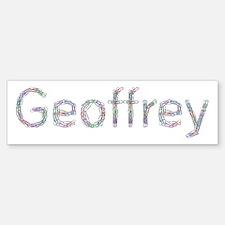 Geoffrey Paper Clips Bumper Bumper Bumper Sticker