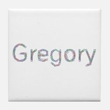 Gregory Paper Clips Tile Coaster