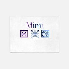 Mimi Quilt Blocks 5'x7'Area Rug